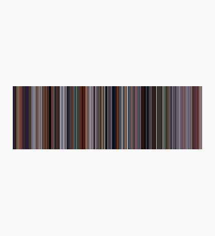 Moviebarcode: The Incredibles (2004) [Simplified Colors] Photographic Print