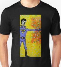 Wonder Twin Zan Day of the Dead Unisex T-Shirt