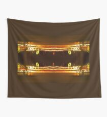 Pillars Of Light And battling sorcerers Wall Tapestry