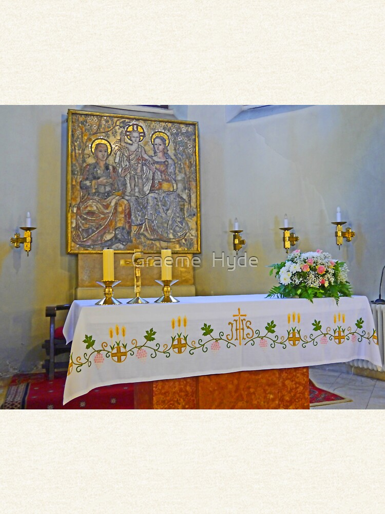 Altar in Jak Church by grmahyde