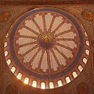 main dome in the blue mosque by Iris MacKenzie