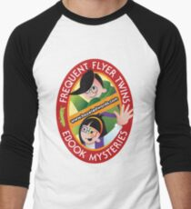 The Frequent Flyer Twins Men's Baseball ¾ T-Shirt