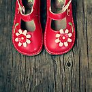pretty little red shoes by Angel Warda