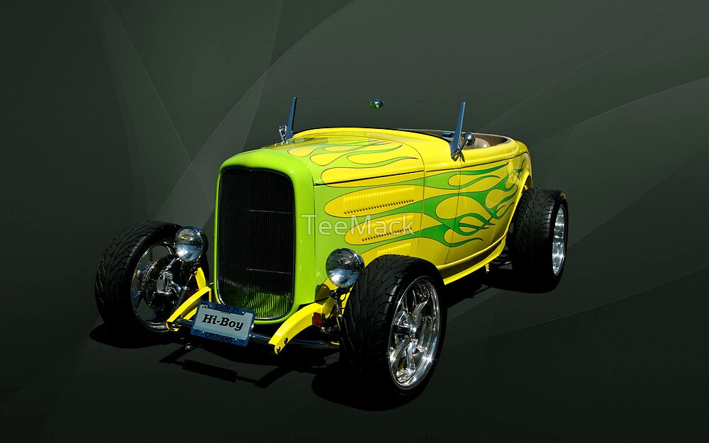 1932 Ford Hi Boy Roadster Hot Rod by TeeMack