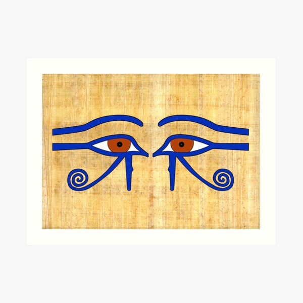 Udjat-Auge I Ägypten  Kunstdruck