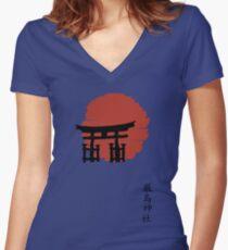 Torii Women's Fitted V-Neck T-Shirt