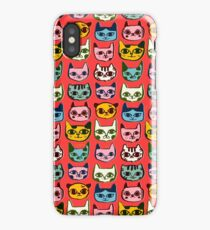 Kitty Faces iPhone Case