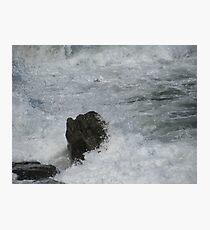 Castle Rock Water Art Photographic Print