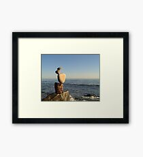Counterintuitive Framed Print