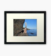 Flood Bay Framed Print