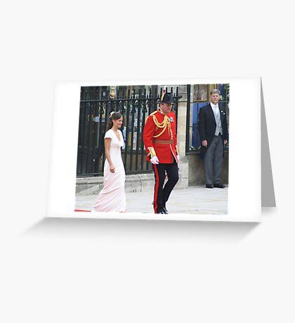 PIPPA THE HEAD BRIDESMAIDE Greeting Card
