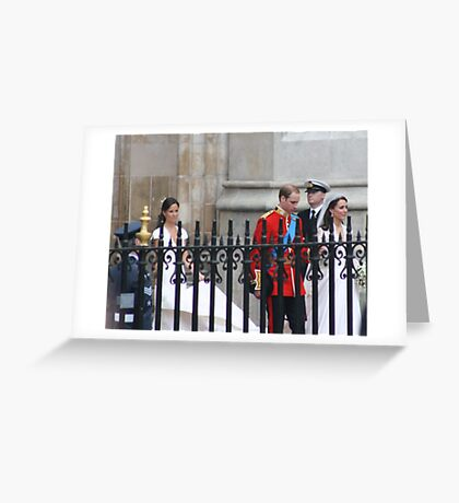 TWOS COMPENY THREES A CROWED Greeting Card