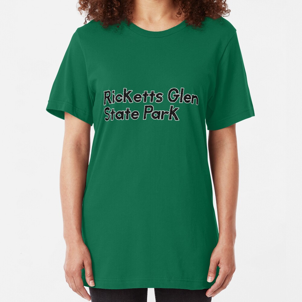Ricketts Glen State Park Slim Fit T-Shirt
