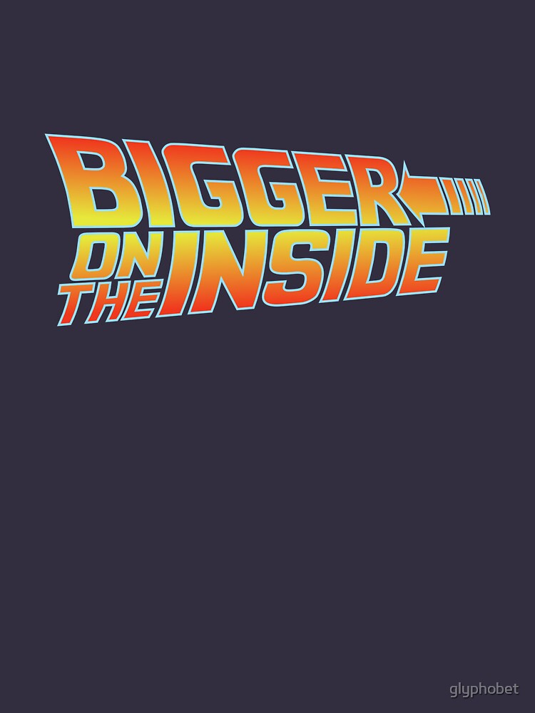 Bigger on the Inside by glyphobet