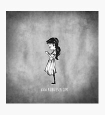 Girl with Necklace Photographic Print