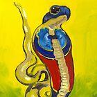 Uräus-Schlange I Ägypten  von Anja Semling