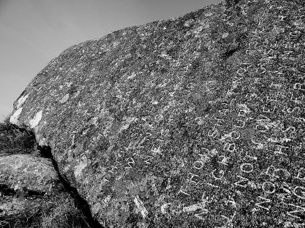 Dartmoor: The Ten Commandments Stone by Rob Parsons (AKA Just a Walker with a Camera)