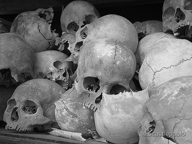 I TOOK THIS PHOTO AT THE KILLING FIELDS by newcastlepablo