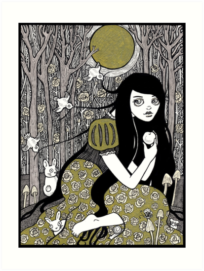 Snow White by Anita Inverarity
