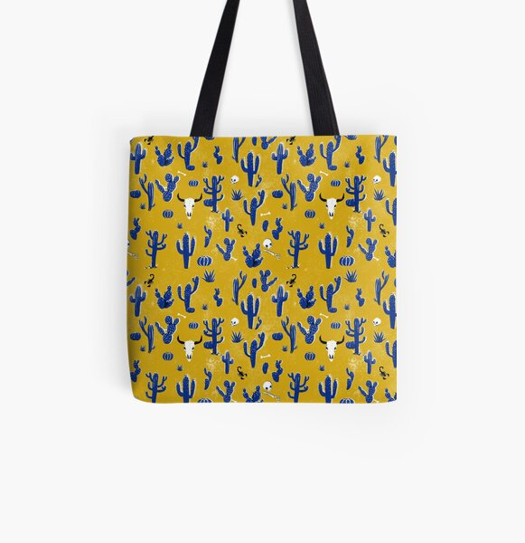 Wild West Pattern All Over Print Tote Bag