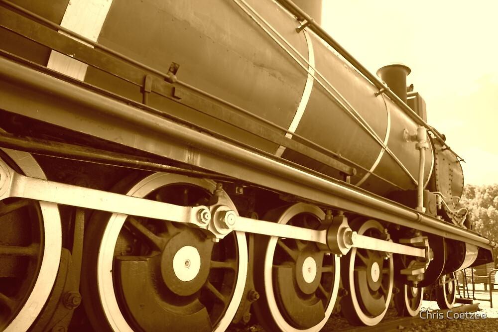 Riversdale Locomotive  by Chris Coetzee