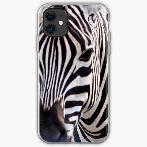 Zebra iPhone Soft Case