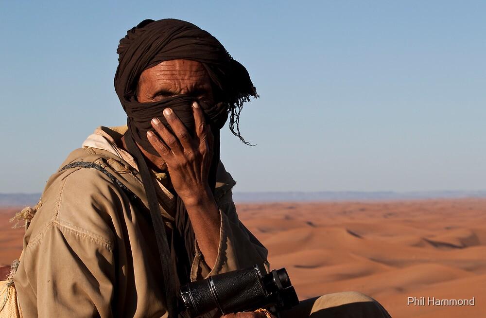 Berber man by Phil Hammond