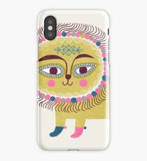 Folk Lion iPhone Case