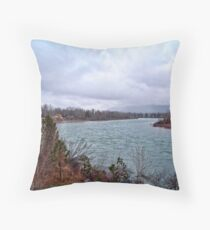 Spring Comes to the Flathead Throw Pillow
