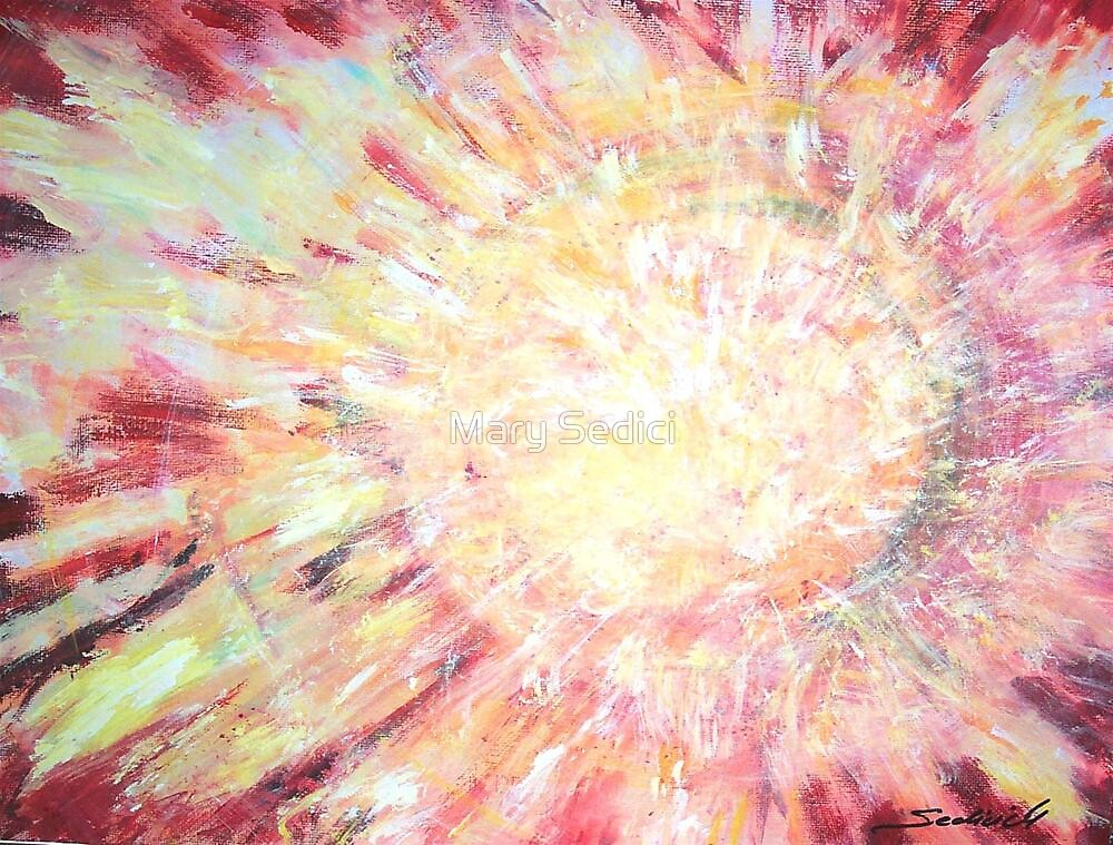 Solar  Eruption by Mary Sedici