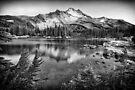 Mt. Jefferson & Scout Lake · Monochrome by Tula Top