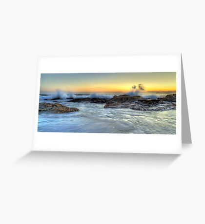 Splash • Stony Beach • Kilcunda • Victoria Greeting Card