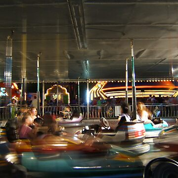 Bumper Cars by BonnieToll