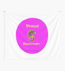 Proud Runner Wall Tapestry