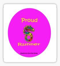 Proud Runner Sticker