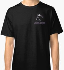 Orchid Springs Animal Hospital White Cat Classic T-Shirt