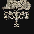 Mrs Puff, Ada Lovelace cat. Urobotocat. by victorianstore