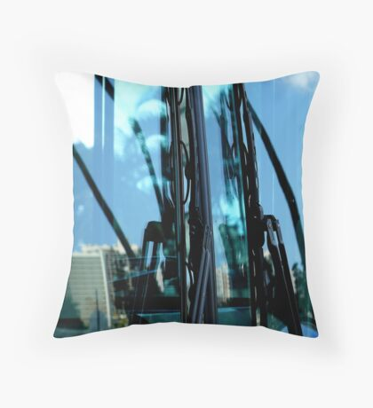 Windshield Wipers Throw Pillow