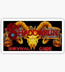 Shadowrun Survival Guide Original Logo Sticker
