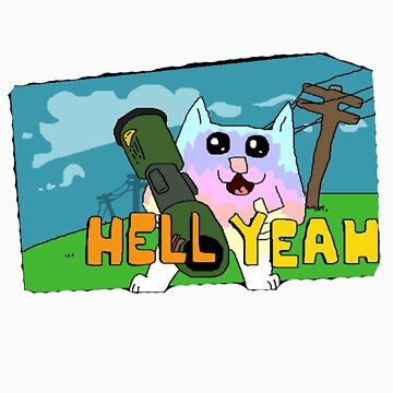 hell yeah cat by Jake Clover by loc123