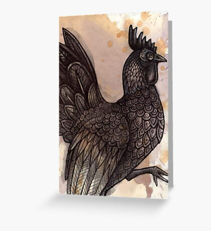 Bantam Greeting Card