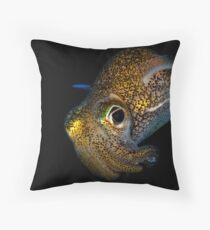 Bobtail Squid Throw Pillow