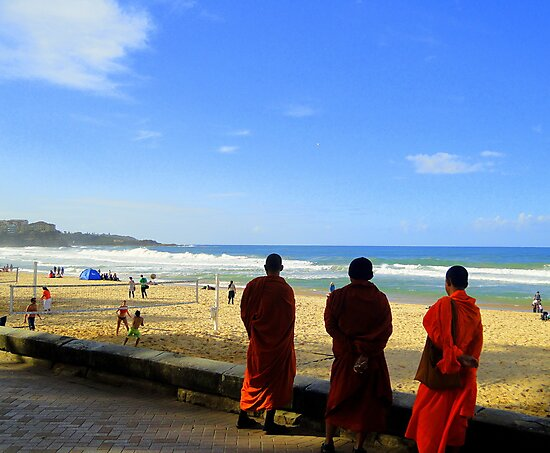Monks Day Out, Manly, Sydney, NSW, Australia by Of Land & Ocean - Samantha Goode
