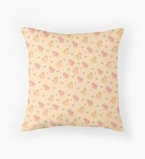 Shower Ducklings - Light Throw Pillow