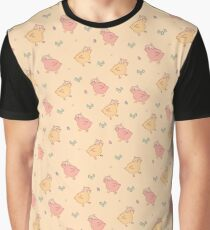 Shower Ducklings - Light Graphic T-Shirt