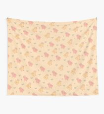 Shower Ducklings - Light Wall Tapestry