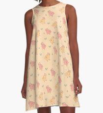 Shower Ducklings - Light A-Line Dress