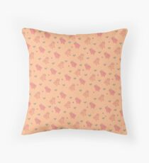 Shower Ducklings Throw Pillow