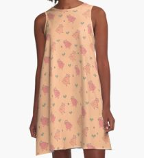 Shower Ducklings A-Line Dress