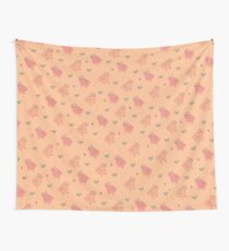 Shower Ducklings Wall Tapestry